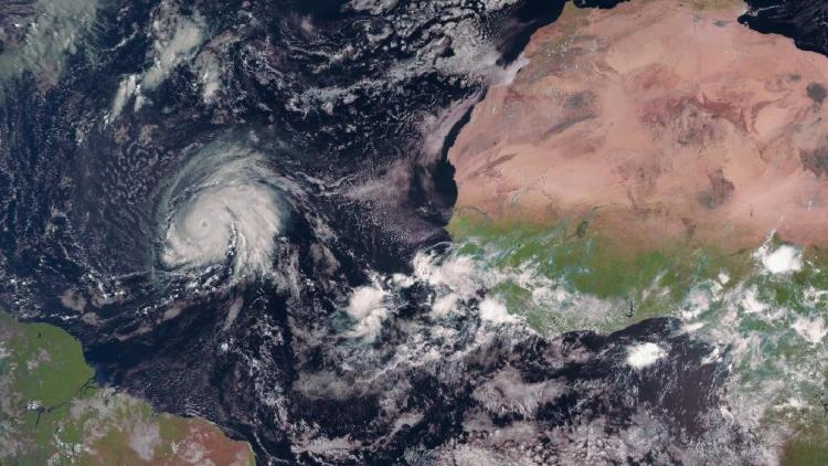 Record-breaking Hurricane Lorenzo