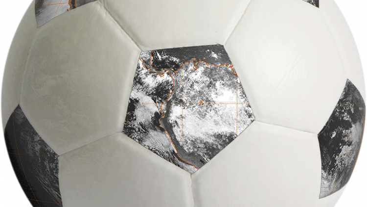 World Cup weather from space