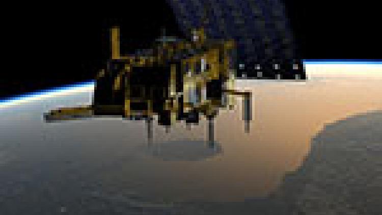 Metop in orbit (manoeuvres)