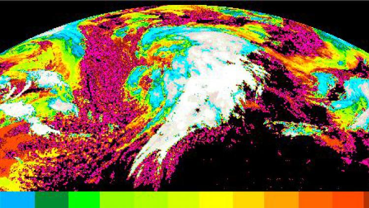 Change to Meteosat 0° Geostationary Nowcasting cloud products