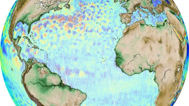 Sentinel-3A & 3B Corrected Sea Surface Heights product