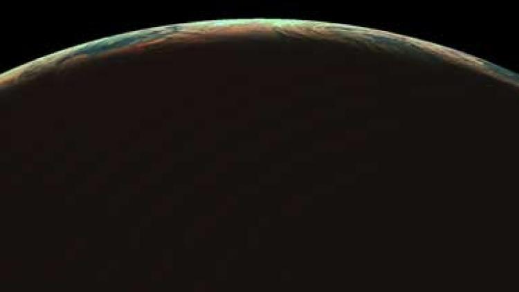 Solstice polar region