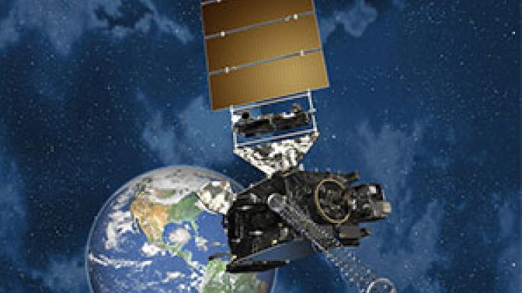 GOES-16 satellite