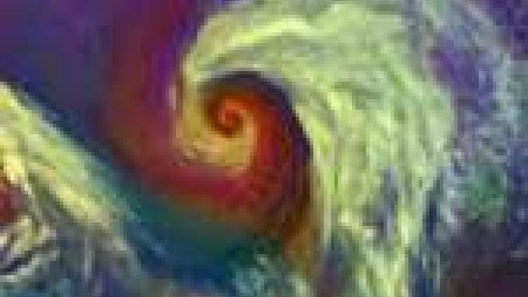 Cyclonic storm over the North Atlantic