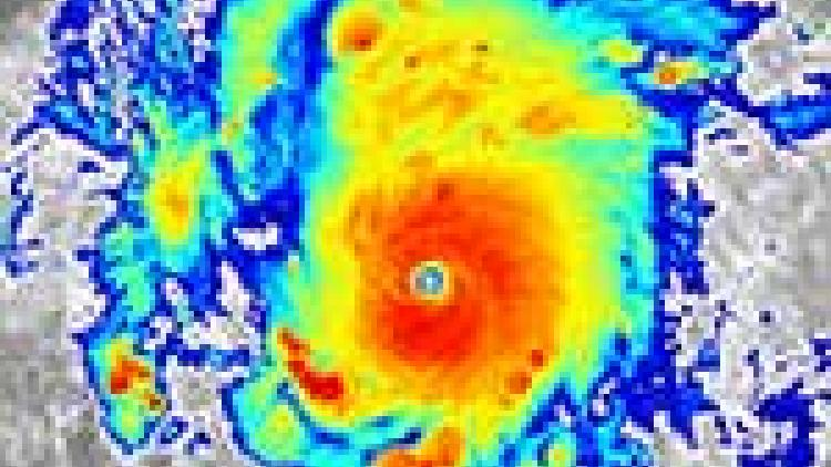 Record-breaking Hurricane Amanda
