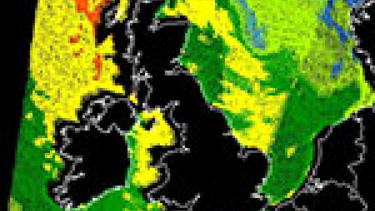 Storm batters parts of Western Europe