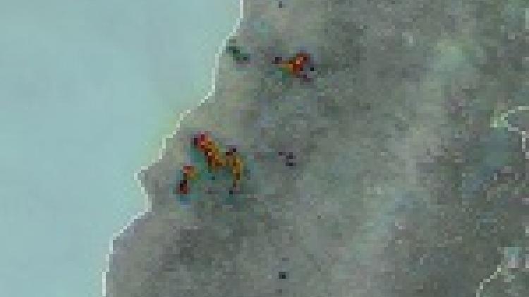 Devastating wildfires in Chile