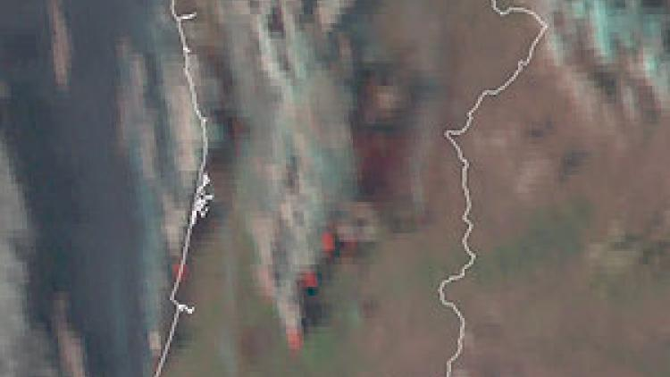 WIDESPREAD WILDFIRES IN PORTUGAL AND SPAIN