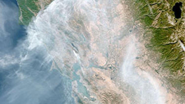 Smoke from California fires