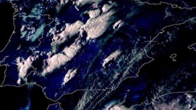 Thunderstorms and flooding in Spain