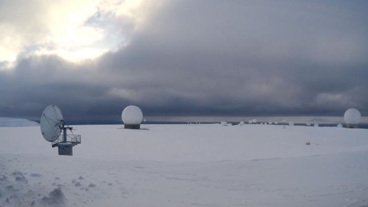 Metop Ground Station, Svalbard