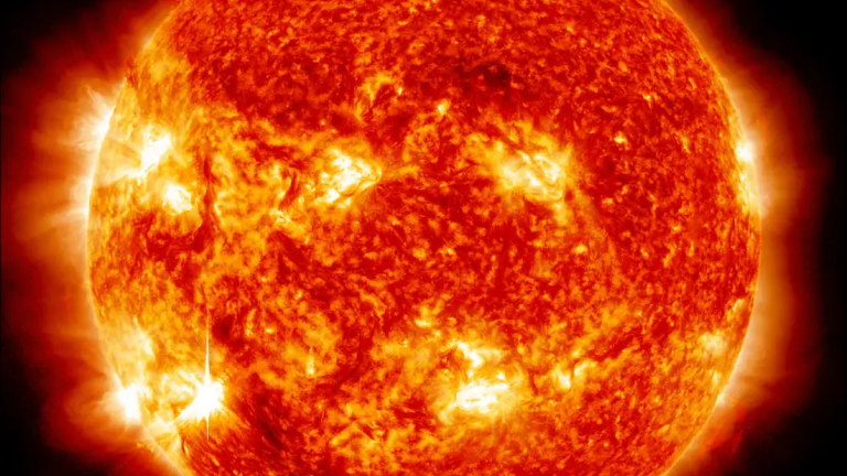 Space weather - Solar flare