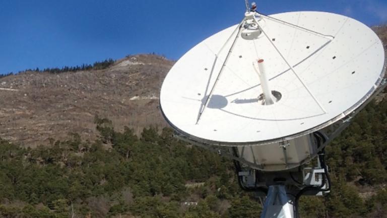 MTG ground segment antenna