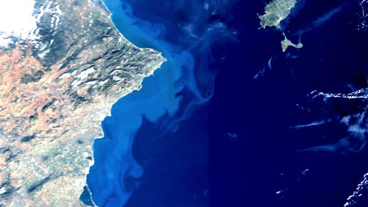 Sentinel-3 OLCI True Colour, 27 Jan 10:00 UTC