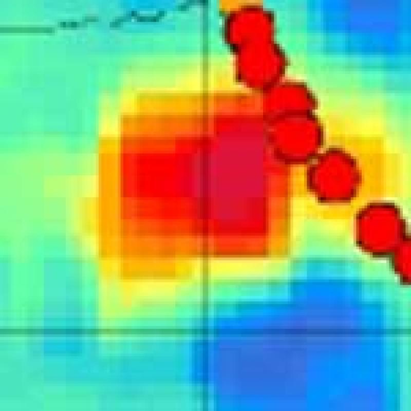 Hurricane Katrina hits coast of USA