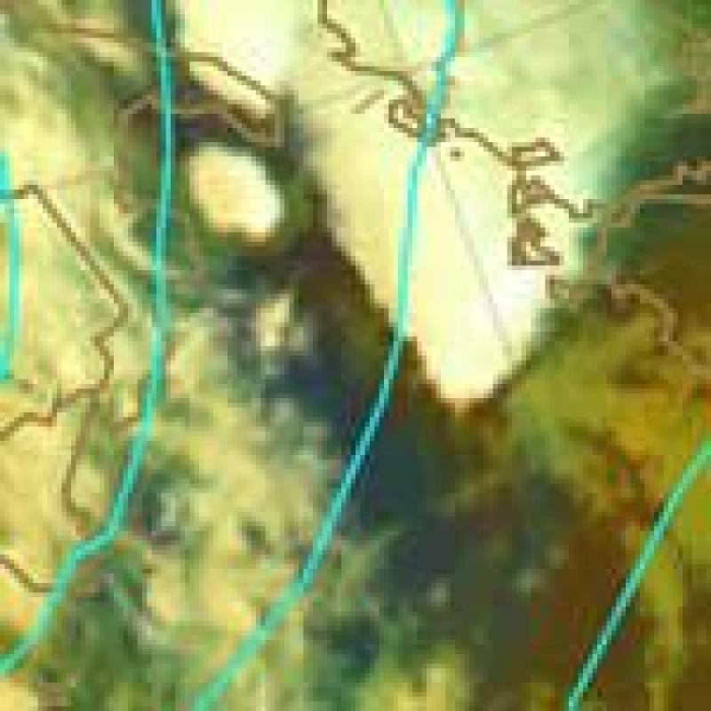 Central Europe heavy rain event