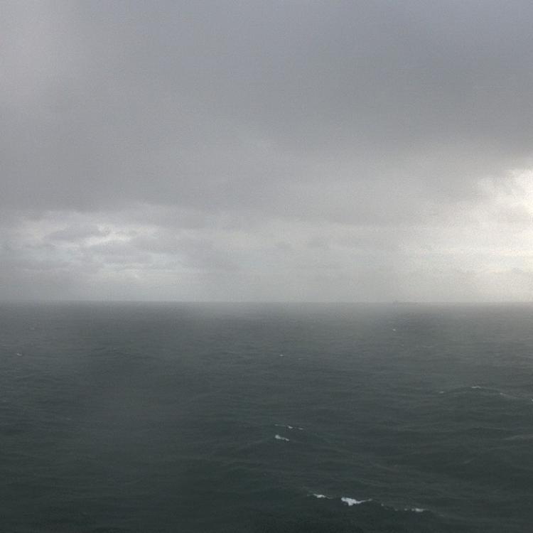 12 Nov 2018, 14:00 UTC, Webcam on Polarstern in a rain shower, Source: AWI