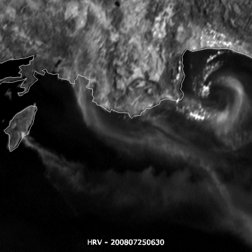 Wild fires over Rhodes and Turkey