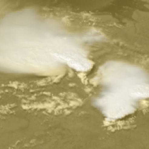Thunderstorms over Western Europe