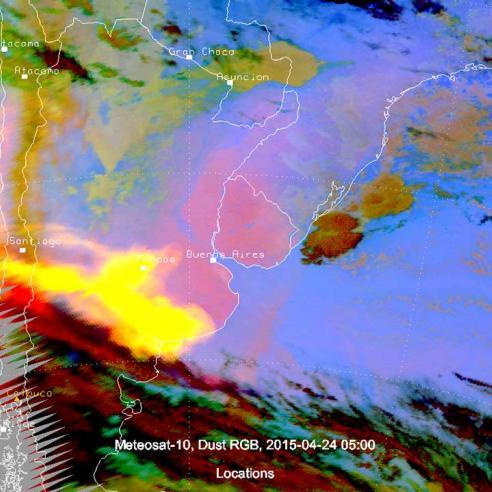 Eruption of Calbuco Volcano, Chile