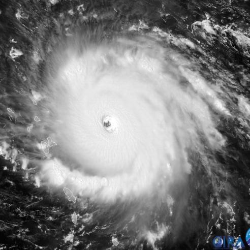 Record-breaking 2017 hurricane season