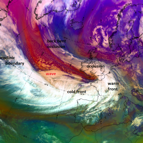 Storm Ana hits parts of Europe