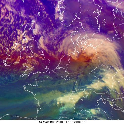 Storm Friederike batters western parts of Europe