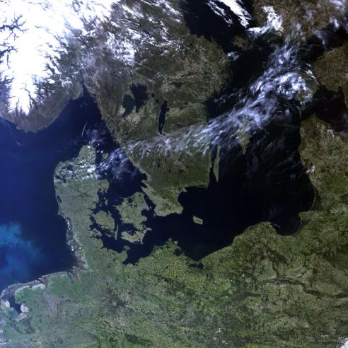 First images from Sentinel-3B