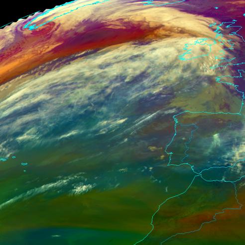 Cross-Atlantic moisture transport