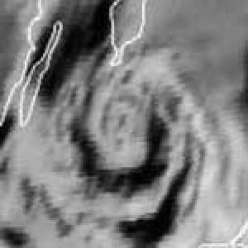 Cyclogenesis in an arctic air mass over the Baltic Sea