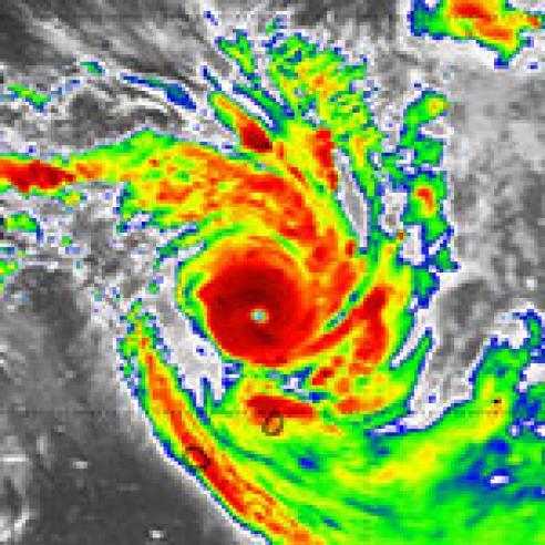 Intense Tropical Cyclone Bansi