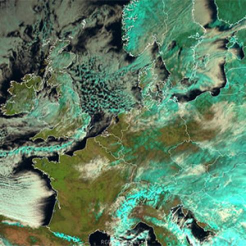 Widespread freezing temperatures and heavy snowfall across Europe