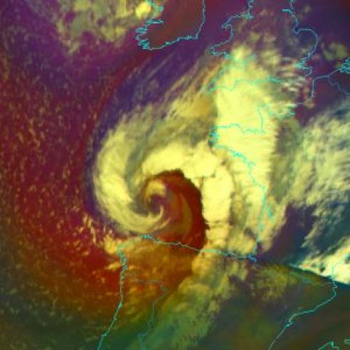 Storm Miguel batters parts of Europe