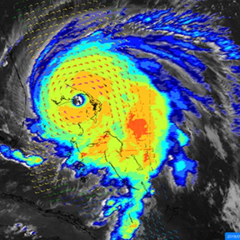 Multiple perspectives on Hurricane Dorian