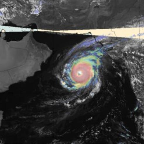 Active Indian Ocean tropical cyclone season
