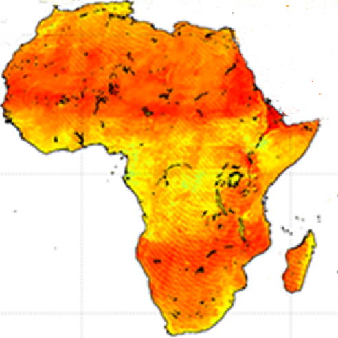 New Sentinel-3A Land Products for Africa soon on EUMETCast