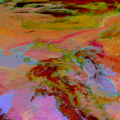 Aralkum Desert dust pollutes air in South-East Europe