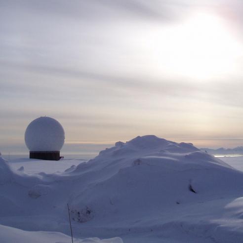 Metop Antenna Svalbard