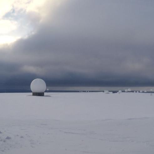 Metop Ground Station, Svalbard