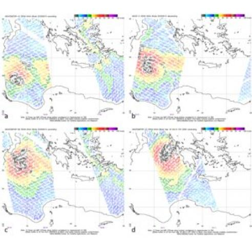 Medicane over Ionian Sea causes storms in Italy and Greece