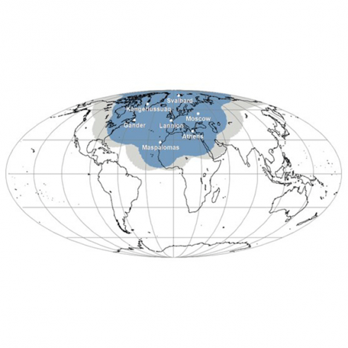 EARS-NWC Geographical Coverage Map