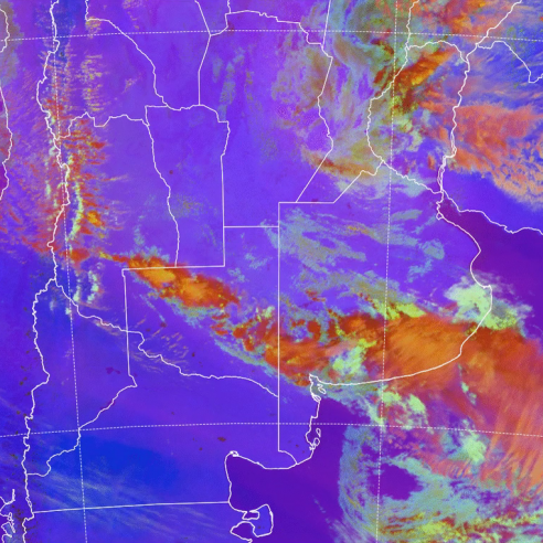 GOES-16 RGB, 21 Nov 2019 13:20 UTC
