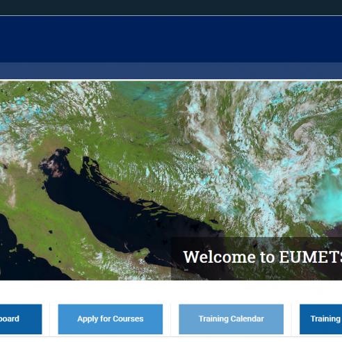 Training Zone homepage