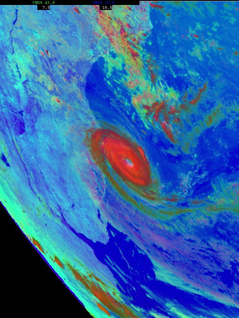 Tropical cyclone in the Southern Atlantic