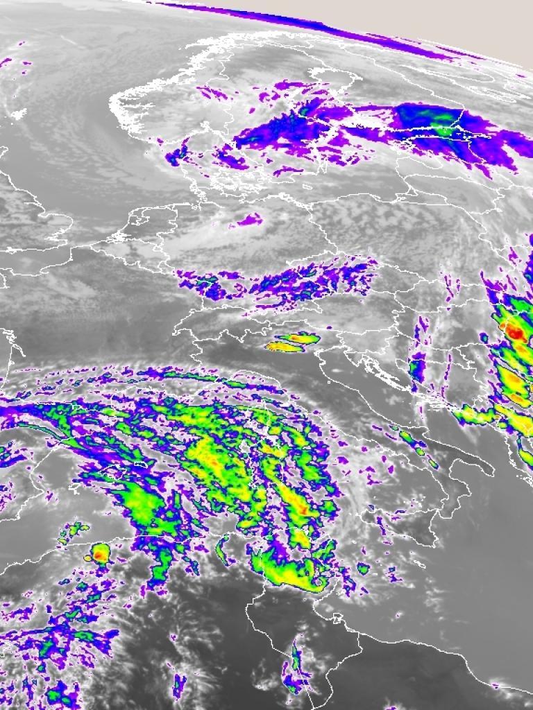 Severe convective storms over Romania