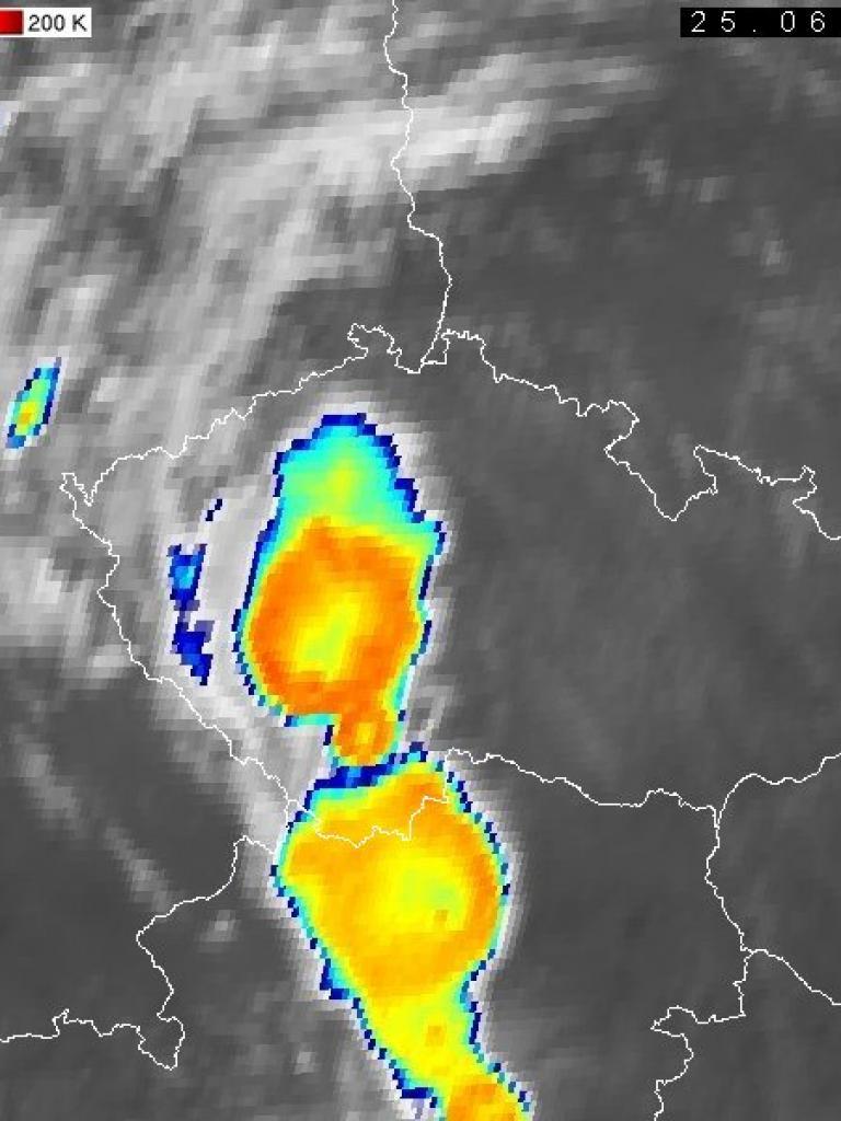 Severe convective storms over the Czech Republic