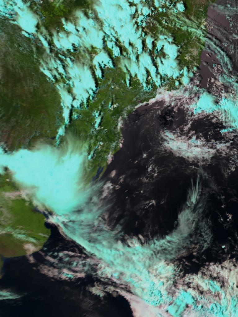 Ring of storms around the Bolivian High