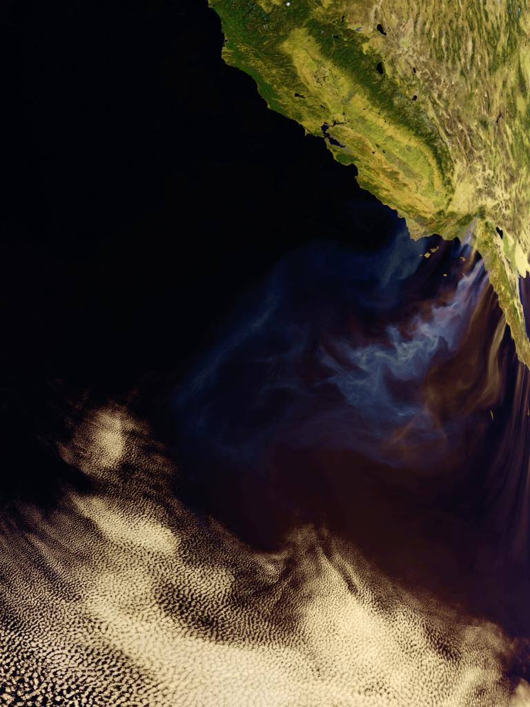 Catastrophic fires in California