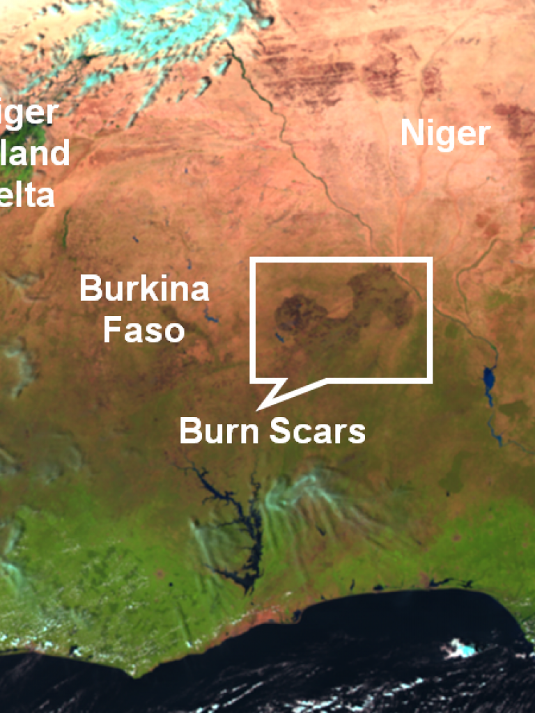 Fires and rapidly growing burn scars