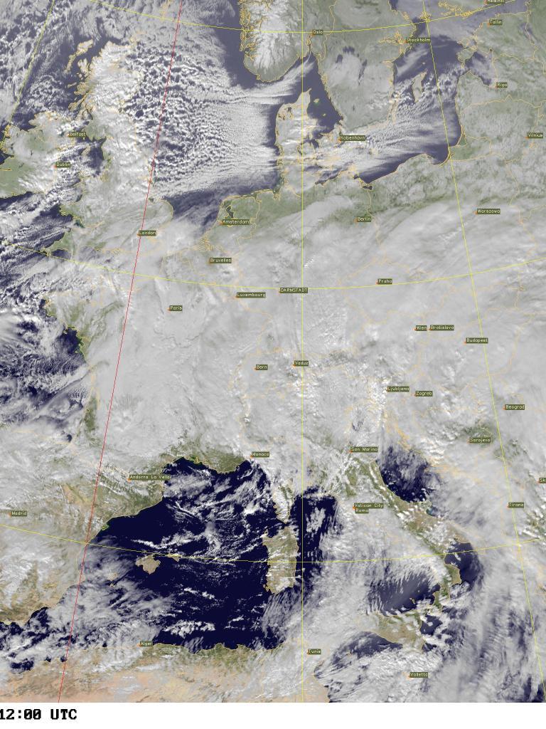 Europe Snowfall